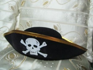 Pirate Hat Halloween Costume Accessory
