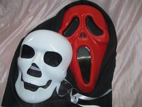 Horror Mask Props